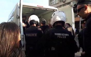 Προσαγωγές πριν την κεντρική προεκλογική ομιλία Τσίπρα στη Θεσσαλονίκη