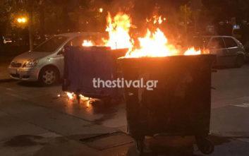 Μολότοφ στη Θεσσαλονίκη μετά την πορεία αντιεξουσιαστών για τον Κουφοντίνα