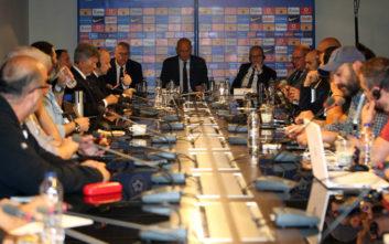 Προανήγγειλαν τη σταδιακή αποχώρησή τους από το ελληνικό ποδόσφαιρο FIFA και UEFA