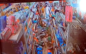 Βίντεο από τη στιγμή του σεισμού στην Ηλεία