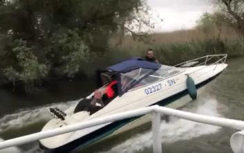 Η παρατήρηση πουλιών μετατράπηκε σε… καυγά με βάρκες