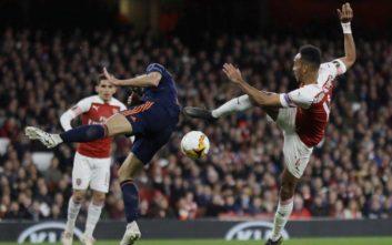 Europa League: Η Άρσεναλ 3-1 τη Βαλένθια, ισόπαλες Άιντραχτ και Τσέλσι