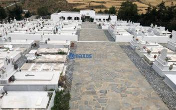 Νάξος: Σοβαρότατο πρόβλημα στο νεκροταφείο της πόλης, τίθεται θέμα δημόσιας υγείας
