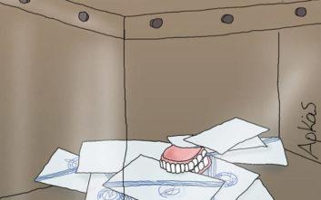 Αρκάς: Τα νέα του σκίτσα για τις εκλογές και τους συνταξιούχους