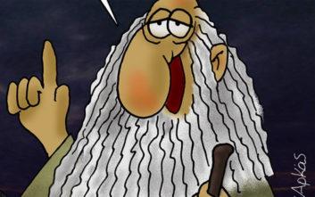 Αρκάς: Το νέο του σκίτσο-σχόλιο για την ήττα του ΣΥΡΙΖΑ στις Ευρωεκλογές