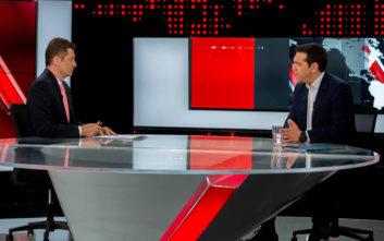 Αλέξης Τσίπρας: Πόσοι είδαν τη συνέντευξη του πρωθυπουργού στον Alpha