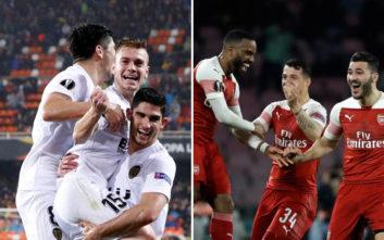 EuropaLeague: Απόψε οι πρώτες μάχες στο δρόμο για τον τελικό
