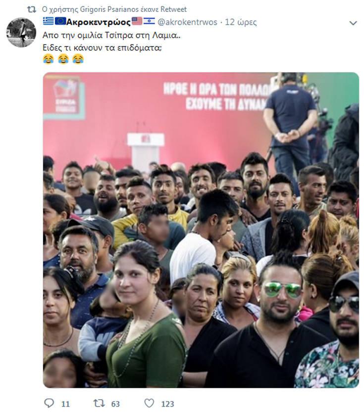 Νέο χτύπημα Ψαριανού σε Twitter για «μισθοφόρους αλλοδαπούς»