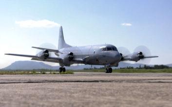 Στην Κύπρο το αεροσκάφος P-3 του Πολεμικού Ναυτικού