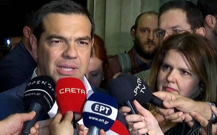 Αλέξης Τσίπρας: Την επόμενη εβδομάδα η ψήφιση των θετικών μέτρων στη Βουλή