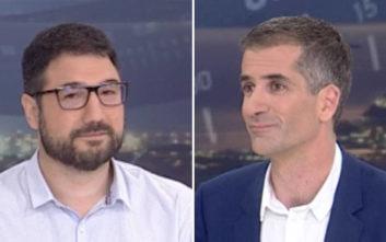 Δημοτικές εκλογές 2019: Οι χαλαρές στιγμές του debate Μπακογιάννη-Ηλιόπουλου