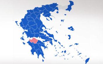 Αποτελέσματα Ευρωεκλογών 2019: Πώς διαμορφώνεται ο πολιτικός χάρτης στην Ελλάδα