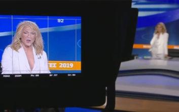 Εκλογές 2019: Ο Τάκης Ζαχαράτος ως Έλλη Στάη στο στούντιο του Open
