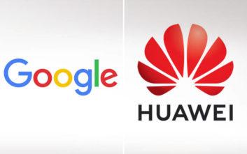 Η Google μπλοκάρει τις αναβαθμίσεις του Android στα κινητά της Huawei