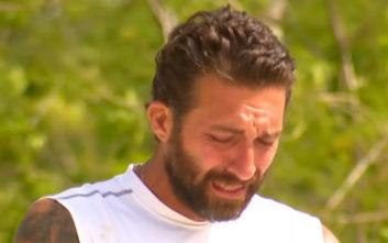 Survivor 3: Ξέσπασε σε λυγμούς ο Κυριάκος μόλις άκουσε ποιο είναι το έπαθλο