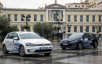Νίκη του Volkswagen e-Golf στο «Hi-Tech EKO Mobility Rally 2019»