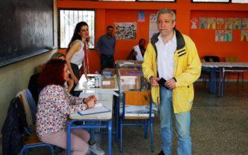 Εκλογές 2019: Στη γενέτειρά του τη Ζάκυνθο ψήφισε ο Σταύρος Κοντονής