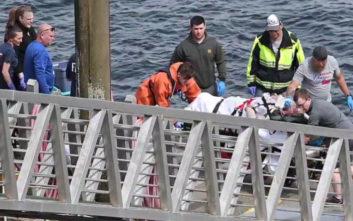 Τρεις νεκροί σε σύγκρουση υδροπλάνων στον αέρα
