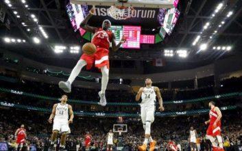 NBA: Κέρδισαν τους Μπακς 100-94 οι Ράπτορς, ιστορική πρόκριση στους τελικούς