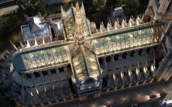 Παναγία των Παρισίων: Η μόνιμη φλόγα και μια... πισίνα ανάμεσα στις προτάσεις για τη νέα στέγη της