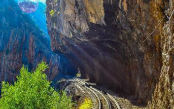 Ελληνική διαδρομή με τρένο στις κορυφαίες του κόσμου