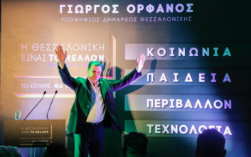 Δημοτικές εκλογές 2019: Ο Γ. Ορφανός παρουσίασε το πρόγραμμα της παράταξης «Η Θεσσαλονίκη είναι το Μέλλον»