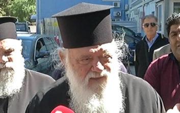 Αρχιεπίσκοπος Ιερώνυμος στην 8χρονη Αλεξία: Ας ευχηθούμε το παιδάκι να ξαναπαίξει στην αυλή του