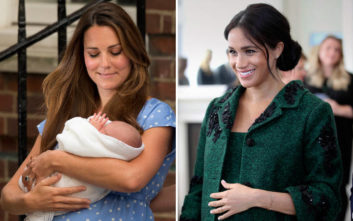 Μέγκαν Μαρκλ - Κέιτ Μίντλετον: Διαφορές και ομοιότητες στον ερχομό των πριγκιπικών μωρών