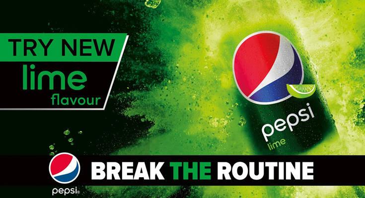Η νέα Pepsi Max Lime μόλις κυκλοφόρησε