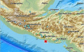 Ισχυρός σεισμός στο Ελ Σαλβαδόρ και προειδοποίηση για τσουνάμι