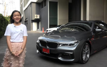 Το 12χρονο κορίτσι που βγάζει τόσα χρήματα ώστε να αγοράσει μια λιμουζινάτη BMW