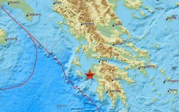 Ισχυρός σεισμός τώρα στην Πελοπόννησο