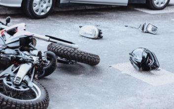 Θεσσαλονίκη: Μοτοσικλετιστής τραυματίστηκε σοβαρά σε τροχαίο
