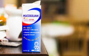 ΕΟΦ: Ανακαλούνται σιρόπια Mucosolvan