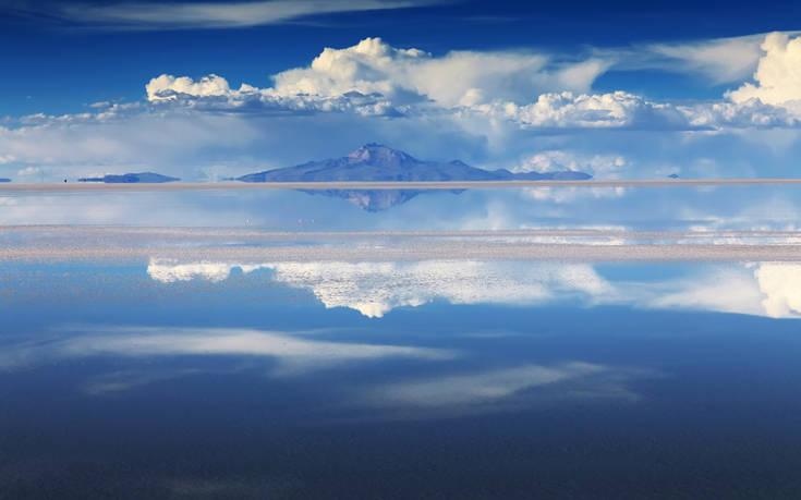 Ο μεγαλύτερος… καθρέπτης στον κόσμο βρίσκεται στη Βολιβία
