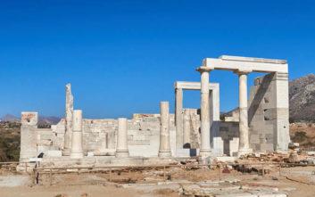 Ο ναός της Δήμητρας στη Νάξο που δημιουργήθηκε έναν αιώνα πριν τον Παρθενώνα