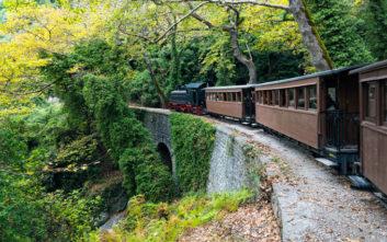Δύο υπέροχες διαδρομές με τρένο στην ελληνική φύση
