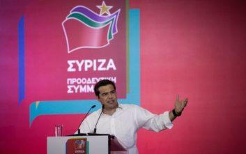 Με... Βελουχιώτη άνοιξε την ομιλία του στη Λαμία ο Τσίπρας