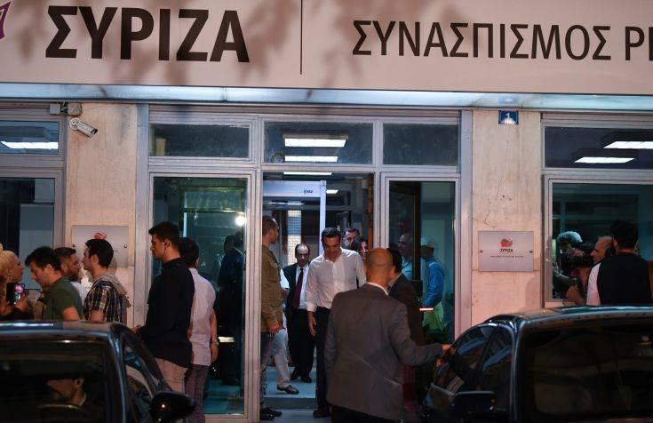 Εθνικές Εκλογές 2019: Ευρεία σύσκεψη του ΣΥΡΙΖΑ υπό τον Τσίπρα μετά την ήττα