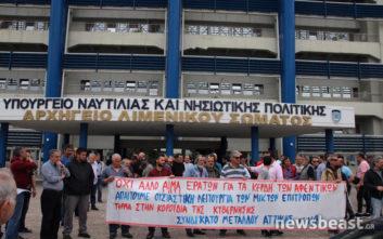 Κινητοποίηση στο Λιμάνι του Πειραιά για το δυστύχημα σε ναυπηγείο του Περάματος