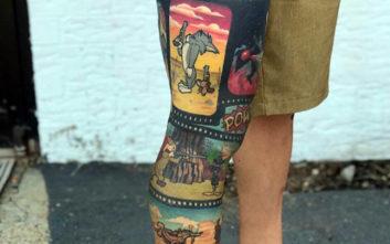 Τατουάζ που κάνουν τα πόδια... πίνακες