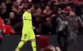 Champions League: Ball boy έκανε χειρονομία στον Μέσι