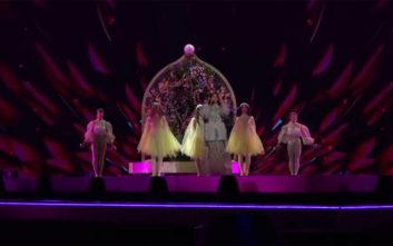 Eurovision 2019: Η πρώτη πρόβα της Κατερίνας Ντούσκα