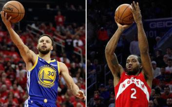 Τελικοί NBA: Πρώτη «μάχη» Λέοναρντ με Κάρι στους τελικούς του ΝΒΑ