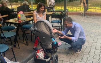 Κώστας Μπακογιάννης στη Φωκίωνος Νέγρη: Η Αθήνα μας χρειάζεται όλους