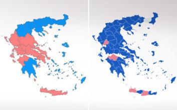 Ευρωεκλογές 2019: Πώς άλλαξε ο πολιτικός χάρτης σε σχέση με το 2014