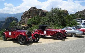 Μία ξεχωριστή καλοκαιρινή εξόρμηση στην Ελλάδα από ιστορικά Alfa Romeo