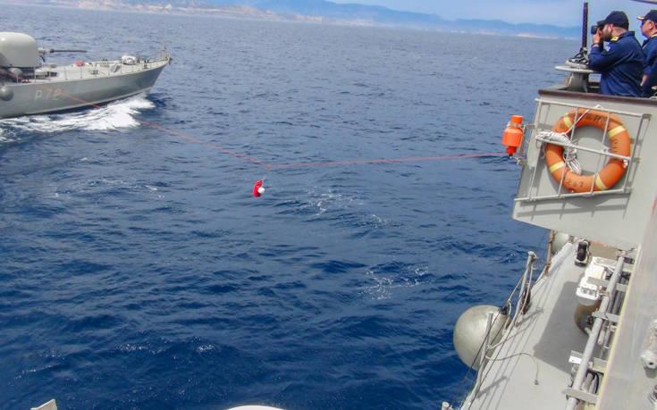 Το ελληνικό Πολεμικό Ναυτικό απαντά στην Τουρκία με «Βροντή» και «Καταιγίδα»