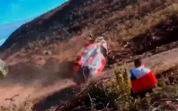 WRC: Το ανατριχιαστικό ατύχημα του Νεβίλ στο ράλι Χιλής