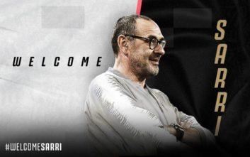 Γιουβέντους: Ανακοίνωσε Σάρι ως τον νέο προπονητή της